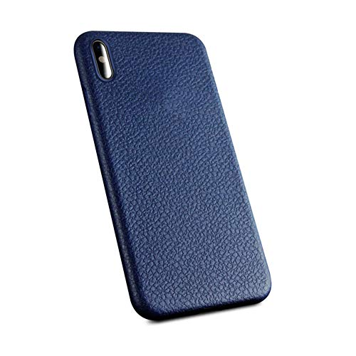 Ultra Thin Phone Cases for iPhone X XS Cover Leather Skin Soft TPU Silicone ()