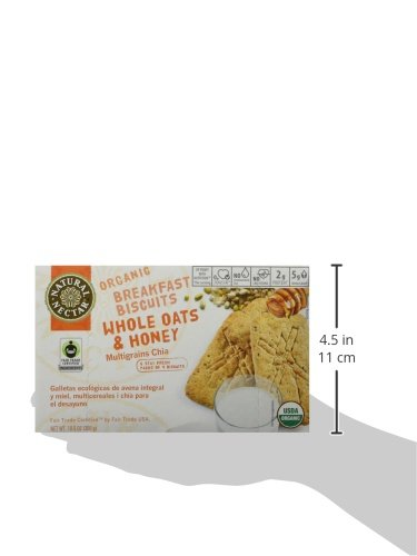 Amazon.com: Natural Nectar Organic Breakfast Biscuits, Whole Oats and Honey, 10.5 Ounce