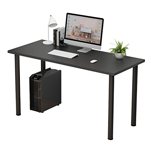 XianTai Computer Desk Computer Table Writing Desk Workstation Office Desk (55 inch, Black) by XianTai