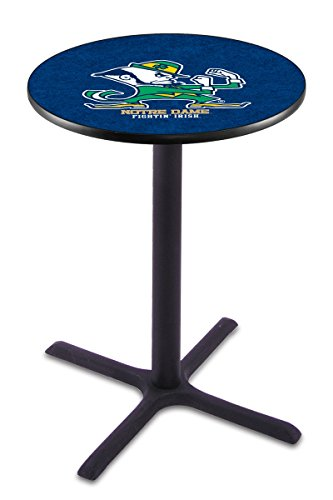 Holland Bar Stool L211B Notre Dame (Leprechaun) Officially Licensed Pub Table, 28