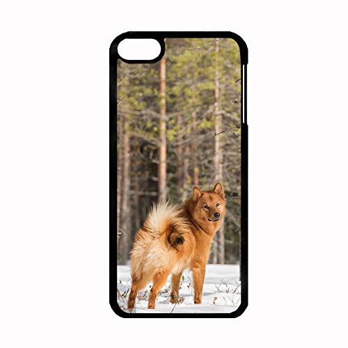 Tyboo Boy Have Finnish Spitz Dog Rigid Plastic Difference Cases for Apple Touch 6 (Ipod Touch 4 Gameboy Case)