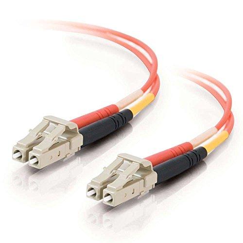 C2G/Cables to Go 33174 LC-LC  62.5/125 OM1 Duplex Multimode PVC Fiber Optic Cable, Orange (3 Meter)