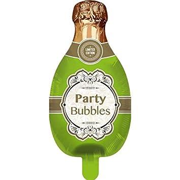 Prosperplast Globo * Botella de champán * para festiva, aniversario o Cumpleaños/Fiesta/