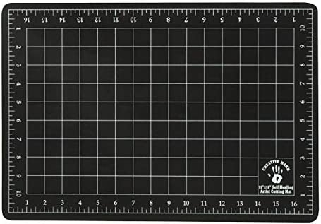 Amazon Com Creative Mark 12x18 Professional Self Healing Cutting Mat For Home Office Studio Without Harming Your Desk Studio Design Lightbox Shop Craft Hobby Use 12x18 Black