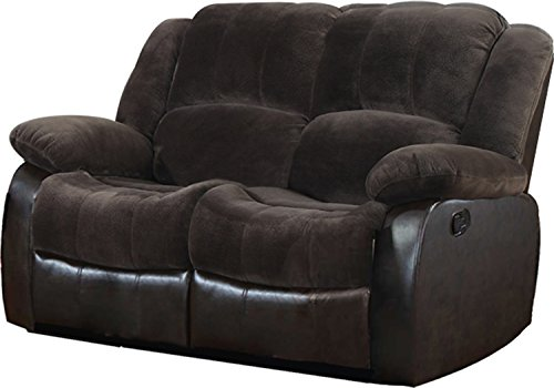 Cheap NHI Express Aiden Motion Loveseat (1 Pack), Peat