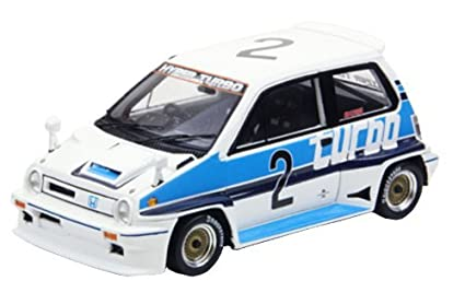 EBBRO 1/43 Honda City Turbo R 1982 Suzuka J.Palmer # 2 White