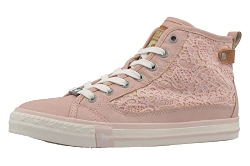 1146 Rosa Femme Mustang rose 507 555 Baskets Hautes f81zW