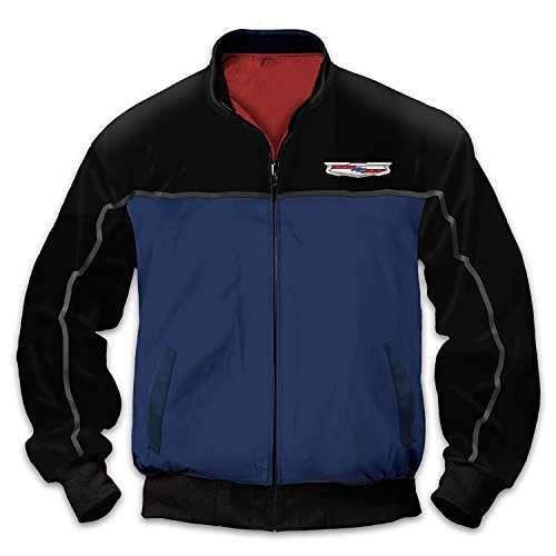 Chevy Bel Air Men's Twill Jacket With Embroidered Patch: ...