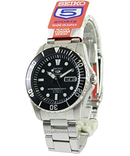 (Seiko 5 Sports Automatic Watch Made ??in Japan SNZF17J1 Men's)