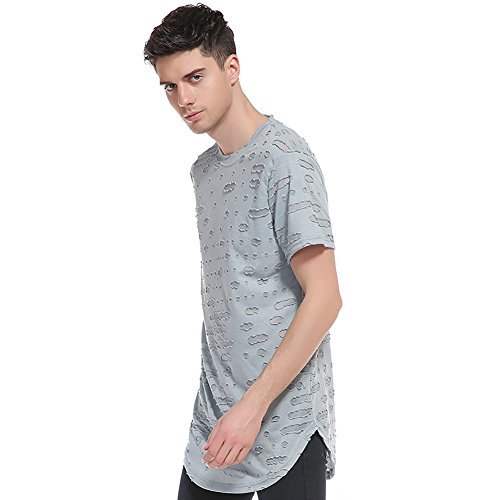 of United Wind Style Sleeve Sleeve Half New Wear Shirt Neck Men's 3D Shirt States Fruit Loom Shirt 2018 Europe The Casual A Tee Hole Short T Round The and T fOxZRqI