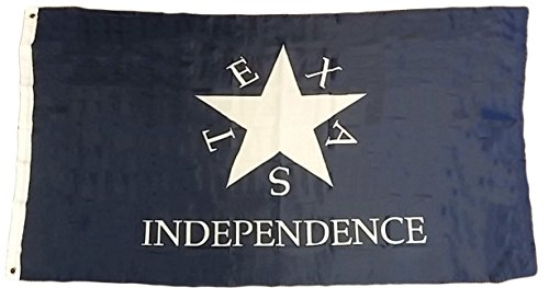 ALBATROS 3 ft x 5 ft Conrad Zavala Independence 1st Republic of Texas Premium Flag Banner for Home and Parades, Official Party, All Weather Indoors Outdoors]()