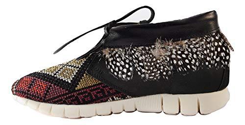 Nero Piuma 171554 Donna Rosto Fish Sneakers Scarpe 40 Soya Z0qf6Hw