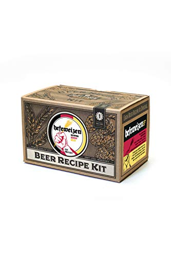 Home Brew Ingredient Kit - Craft a Brew 1 Gallon Beer Recipe Hefeweizen Beer Kit - Beer Recipe Kit - Make Your Own Beer with Home Brewing 1 Gallon Kits - Home Brewing Ingredient Kit
