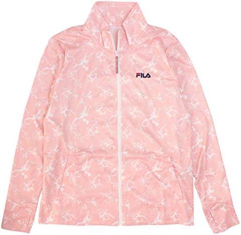FILA(フィラ) ラッシュガード UVジャケット レディース 女性 UVカット ジップアップ