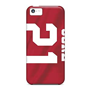 Rugged Skin Cases Covers For Iphone 5c- Eco-friendly Packaging(san Francisco 49ers)