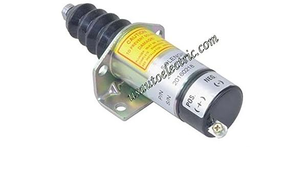 SA3300 SA3300T New Shut Down Solenoid Replaces Syncro-Start 1502-12C6G1B2S1 150212C6G1B2S1