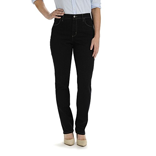 Lee Relaxed Fit Straight Leg Womens Stretch Blue