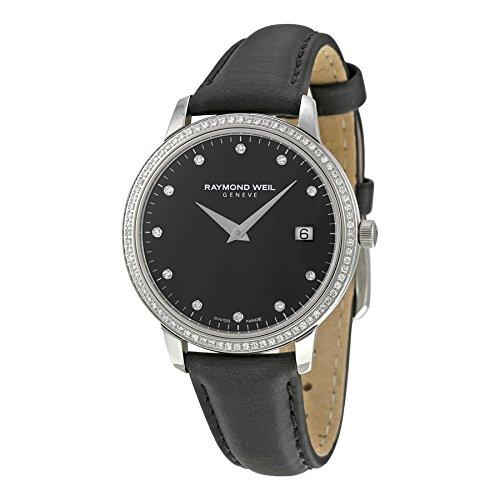 Raymond-Weil-Toccata-Black-Dial-Diamond-Black-Leather-Ladies-Watch-5388-SLS-20081