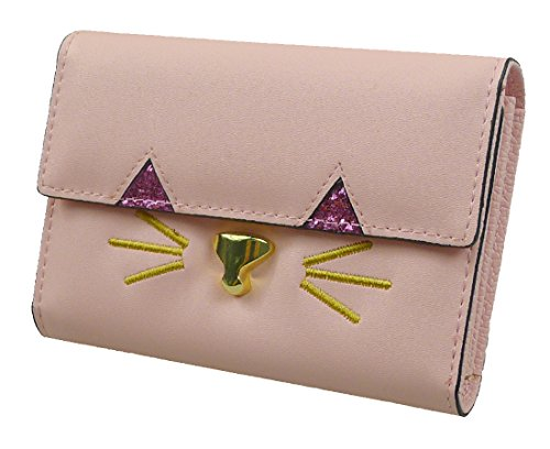 Sac Long À Main Lightpink Portefeuille Kitty Pochette Main Party Prom À Sac Visage Kukubird XEqpwBv