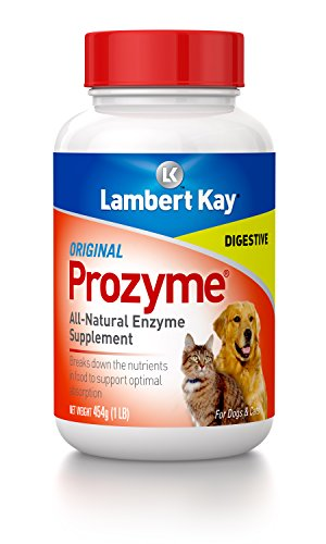 Prozyme Original All-Natural Enzyme Supplement for Dogs and Cats, 454gm