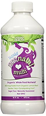 Liquid Health Products Prenatal Multi-Vitamin, 16 Ounce