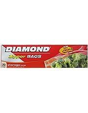 Diamond Storage Zipper Bags