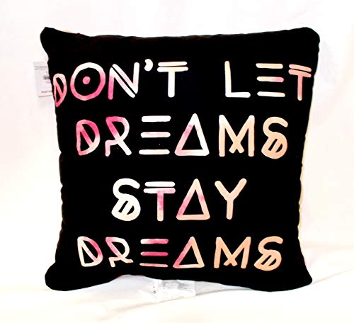Double Sided 14' Pillow - Kohl's Dream Catcher Don't Let Dreams Stay Dreams Decorative Double Sided Pillow 14' NWT