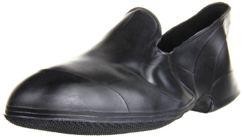 Tingley Men's Storm Stretch Overshoe,Black,Large /9.5-11 M US (Best Rubber Shoes For Men)