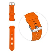 Tuff-Luv Garmin Forerunner 920XT Wrist / Watch Silicone strap + tool - Orange