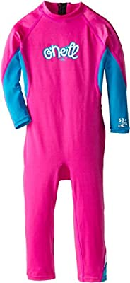 O'Neill Wetsuits UV Sun Protection Girls Toddler Ozone Full Suit