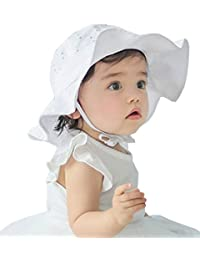 YJWAN Infant Toddlers Kids Sun Cap Baby Girls Sun Protection Summer Hat 1-4 Years¡