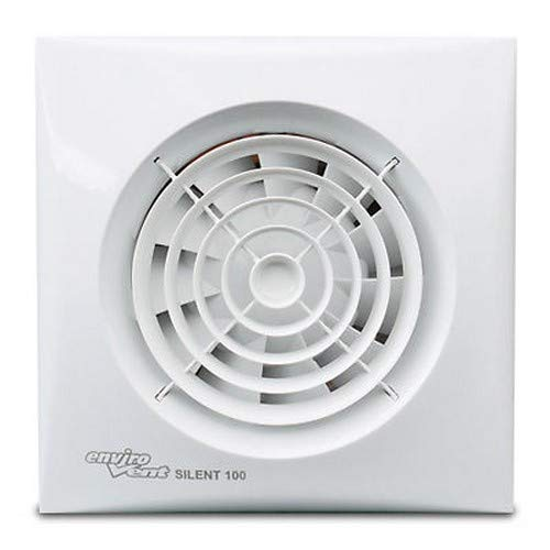 Envirovent SIL100T 'Silent' Bathroom Extractor Fan - for 4' 100mm ducting