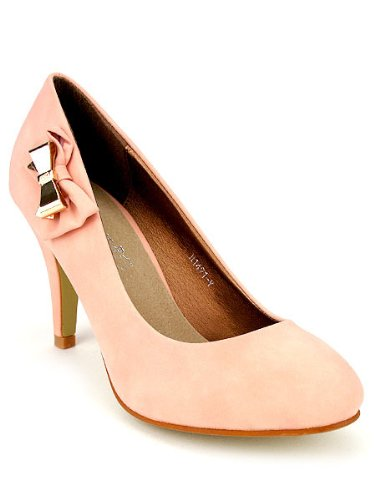 Cendriyon, Escarpin Corail Pastel LOLI Mode Femme Chaussures Femme Mode Taille 3b5043