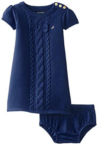 Nautica Girls Cable Sweater Dress