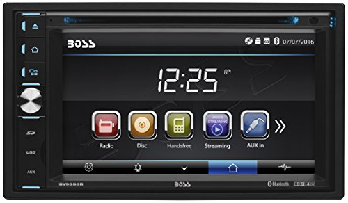 [BOSS Audio BV9358B Double Din, Touchscreen, Bluetooth, DVD/CD/MP3/USB/SD AM/FM Car Stereo, 6.2 Inch Digital LCD Monitor, Wireless Remote] (Boss Audio Systems)