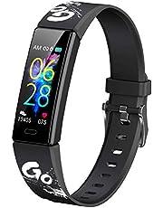 Smartwatch för barn, män, kvinnor, sportklocka hjärtfrekvens sömnmonitor GPS vattentät IP68 stoppur stegräknare kalori väckarklocka 11 sportlägen för Android iOS【2021】