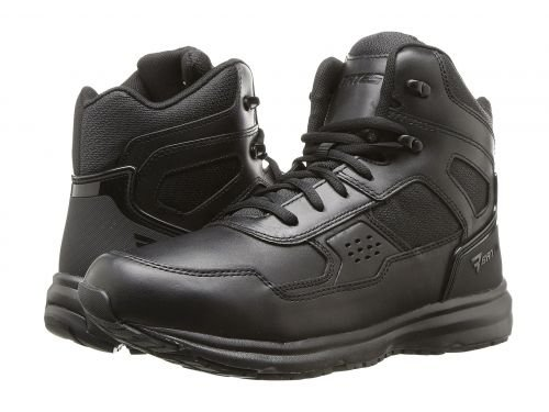 Bates Footwear(ベイツ) メンズ 男性用 シューズ 靴 ブーツ 安全靴 ワーカーブーツ Raide Mid Leather Sport Tactical Black [並行輸入品] B07DNQ7RM7 13 D Medium