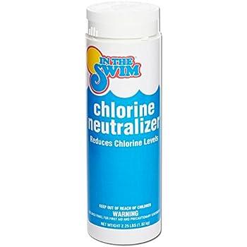 Amazon Com In The Swim Pool Water Chlorine Neutralizer