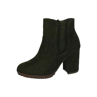Vert37 Shoes Bottines 15 Femme F H pour Vert Vert 995 mnwOyvN8P0