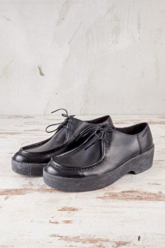 de 001 Lisa 253 de 4240 Mujer 4240 Negro Cordones 001 Zapatos Negro para Vagabond VB Piel HZ5wqxzX5