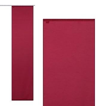 Schiebegardine Gardine Vorhang FlCAchenvorhang halbtransparent dp BANJIFHI