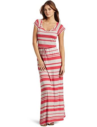 Splendid Women's T Shirt Maxi Dress, Red Canyon, X-Small