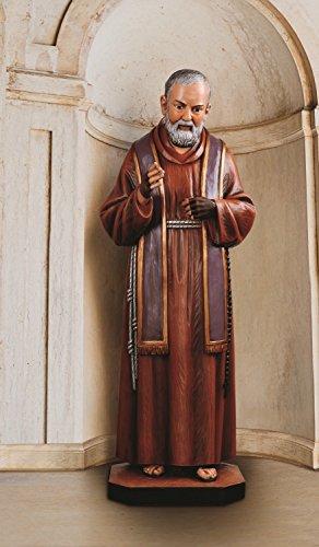 St Pio Statue 49 1⁄4 Inch Tall