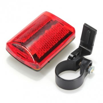Pakhuis 5 LED Bike Tail Light Bicycle Red Flash Light Rear Lamp 7 Mode