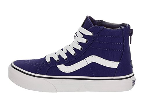 Vans Hohe SK8 Blueprint Check Sneakers HI Pop ZIP True Unisex White Kinder pwpFaqrAx