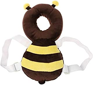Plush Toys Baby Head Protection Pad,Toddler Headrest Pillow Adjustable Infant Cute Wings Drop Resistance Safety Pad Guardian Baby Cushion for Baby Walkers Protective Head Shoulder Protector Prevent He