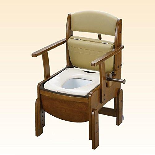 リッチェル 木製トイレ きらくコンパクト 18520(ヤワラカベンザ) B00ICFH0QC