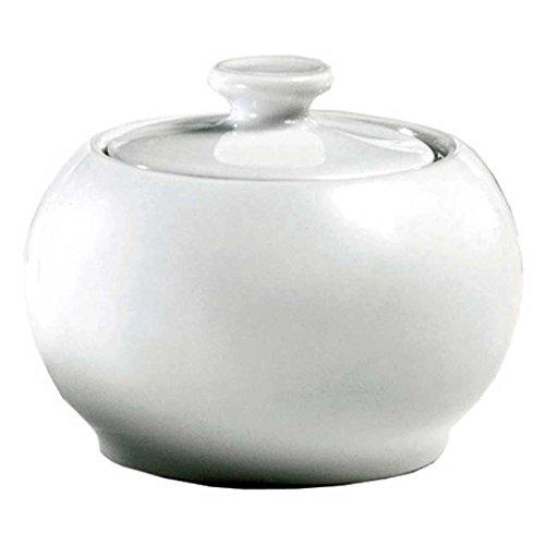 (Pillivuyt France, Sancerre Porcelain Covered Sugar Bowl, 6 Ounces)