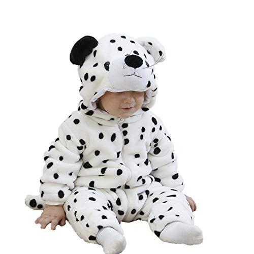 Bebé Ropa Peleles para Dormir y Batas con Capucha Leopardo Animal Franela Pijama Mono 1-36 Meses: Amazon.es: Ropa y accesorios