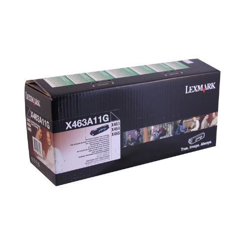 Lexmark X463A11G OEM Toner - X463 X464 X466 Series Return Program Toner (3500 Yield) ()